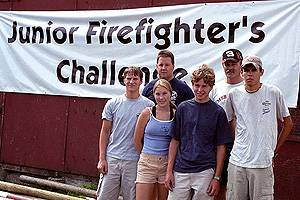 2001 Junior Firefighter Challenge Team