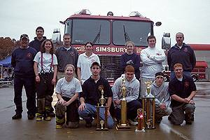 2003 Junior Firefighter Challenge Team