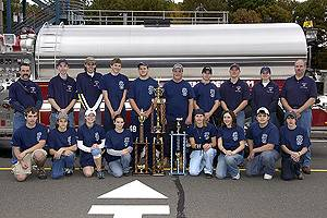 2005 Junior Firefighter Challenge Team